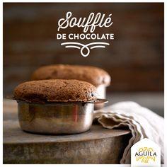 Soufflé de #chocolate