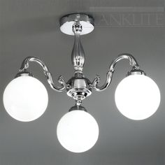 Franklite FL2257/3/456 Bathroom Lighting 3 Light Fitting