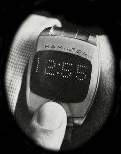 Hamilton Pulsar LED 70s Prototype - The first digital watch