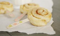 """Von Zimtschnecken kann man nie genug bekommen! Diese kreative Idee kommt von dem Foodblog """"Elbcuisine""""."""