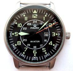 Russian Watch Poljot Aviator