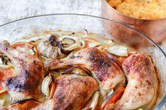 Sült csirke arakkal és vérnaranccsal Drink, Meat, Chicken, Food, Beverage, Essen, Meals, Yemek, Eten