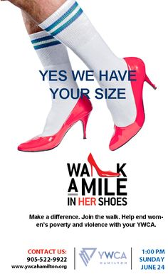 Join us for the 4th Annual Walk A Mile In Her Shoes on June 23, 2013.