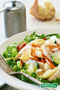 This Turkey Pasta Salad is our favorite solution for leftover Thanksgiving turkey. Light and fresh-tasting, it's the perfect antidote to the holiday's overindulgence. Or maybe it's the perfect rationale for allowing yourself enjoy another delicious leftover -- that last piece of pie!