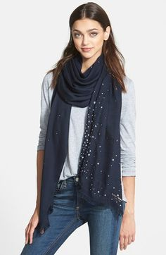 kate spade new york 'starburst' scarf available at #Nordstrom