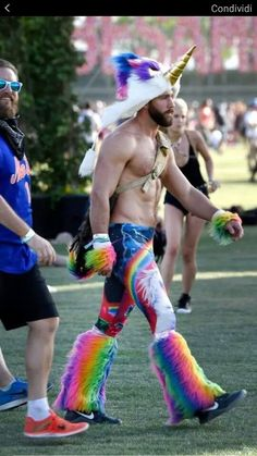 #fierce #flawless #awesome #man #unicorn #manicorn #rainbow #clothes #amazing #idol #wannabe