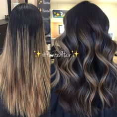 Balayage: Chestnut + Chocolate We are the largest community in the world for salon professionals wit Bayalage, Hair Color Balayage, How To Balayage, Blonde Balayage, Daniel Golz, Color Correction Hair, Growing Out Hair, Natural Hair Styles, Long Hair Styles