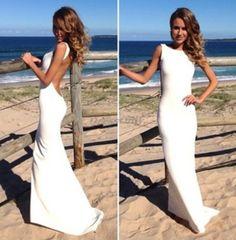 Vestido Blanco $23.79