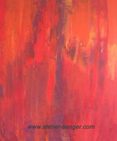 Inneres Feuer, 54 x 65 cm. Bitte hier klicken: www.art-senger.com #malerei #kunst #art #feuer Painting Art, Abstract Art, Inspiration, Artist, Artwork, Pictures, Design, Atelier, Mood