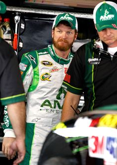 Dale,Jr and Stevie in martinsville