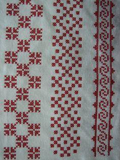 Small Cross Stitch, Cross Stitch Borders, Modern Cross Stitch, Cross Stitch Flowers, Cross Stitch Charts, Cross Stitch Designs, Cross Stitch Patterns, Kasuti Embroidery, Swedish Embroidery