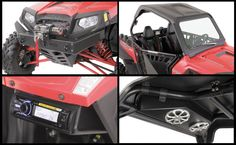 Bad Dawg Polaris RZR Package- Bumper, Winch, Top, Stereo