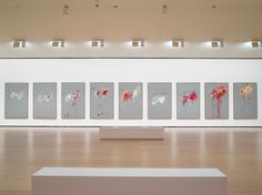 Cy Twombly review – blood-soaked coronation for a misunderstood master