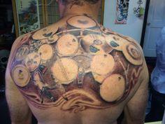 DW drum tattoo