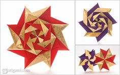 Modular Origami Stars | Flickr - Photo Sharing!