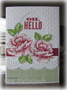 SU Stippled Blossoms, Large Scallop Edgelits Die, Delicate Designs E F, change sentiment                   (Apr 24, 2014)