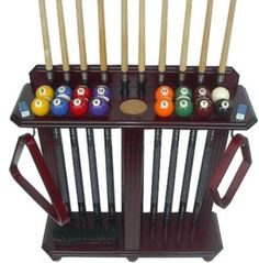 10 Pool Cue Billiard Stick Floor Rack - Holder Mahogany Finish by Iszy Billiards. $67.45 Pool Sticks, Pool Cues, Billiard Room, Home Projects, Pool Tables, Game Rooms, Outdoors, Floor, Laundry Room