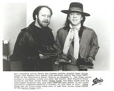 Stevie Ray Vaughan 1983 orig press photo mint condition