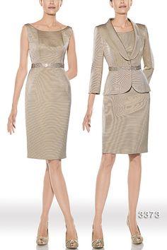 Vestido de madrina modelo 3373 by Teresa Ripoll | Boutique Clara. Tu tienda de vestidos de fiesta.