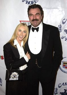 Tom Selleck and his wife, Jillie