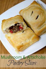 Rachel Cotterill: Mushroom & Artichoke Slices
