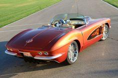 1962 Chevrolet Corvette Rear