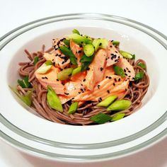 Miso and Ginger Poached Salmon with Warm Soba Noodles Recipe on Food52 ...