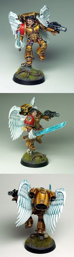 NMM Gold on Sanguinary Guard
