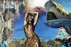 2014 MarediModa fabric trend: Geo Evolution | Swimwear