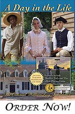 Dress the Part: Interactive game where you can 'dress' a colonial person
