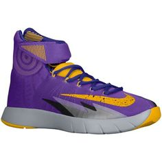 c17aac8381dea purple and gold nike shoes