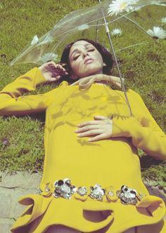 Yellow Fashion. <3 1960's