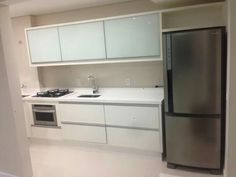 Cozinha branca (Facebook _ Jaime Alves)
