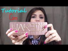 Naked 3 - Urban Decay  Amanda Fragoso - YouTube
