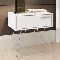 Criado-Mudo Isadora Design Branco