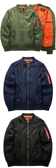 Found this Stylish Bomber Jackets. 4 Colors Optional.Size: XS - 6XL.