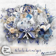 Kit Etoile des neiges -Kit by Marilou Etoile des neiges -Kit by Marilou [marilou_etoiledesneiges] - €2.27 : Boutique ScrapFromFrance