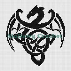 Celtic Dragon graph pattern