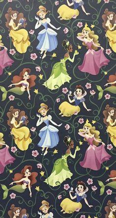 Hoje é dia deixar o celular mais que encantado com as Princesas da Disney.