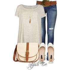 Relaxed, created by stylisheve on Polyvore