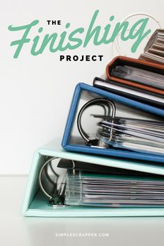 The Finishing Project is a new workshop offering expert guidance and an inspiring community structure to swiftly move you forward on any memory keeping or scrapbooking project.