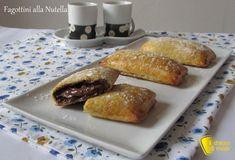 Fagottini alla #nutella #ricetta #ilchiccodimais #foodporn #recipe http://blog.giallozafferano.it/ilchiccodimais/fagottini-alla-nutella-ricetta-con-pasta-sfoglia/