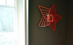 awesome patterned Flat Clock by Johnson House Designs....