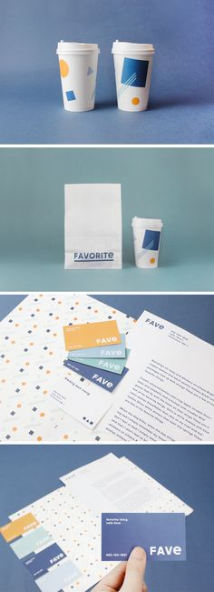 [identity design/art direction] cafe_fave on Behance