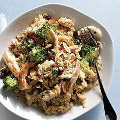 Healthy Chicken-Broccoli Couscous