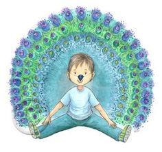 Kundalini Yoga, Yoga Meditation, Yoga 1, Massage, Peacock Painting, Yoga For Kids, Sensory Activities, Kids Cards, Yoga Poses