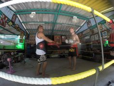 Thai boxing in Bangkok