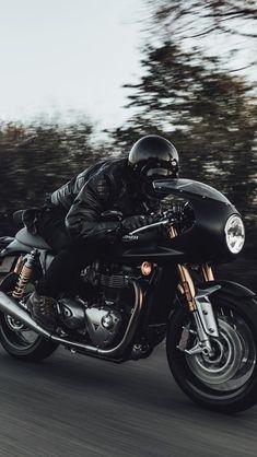 Triumph Thruxton R from Triumph's Instagram