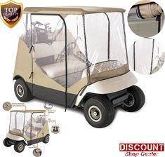 Golf Cart Rain Cover Enclosure Club Car 2 Person Yamaha Precedent EZ GO Storage #ClassicAccessories