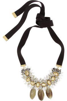 Marni statement necklace
